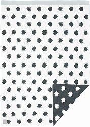 Бебешко памучно одеяло - Little Chums Stars - Размер 75 x 100 cm -
