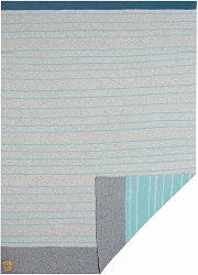 Бебешко памучно одеяло - Stripes - Размер 75 x 100 cm -