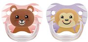 """Залъгалки от силикон с ортодонтична форма - Комплект от 2 броя от серията """"PreVent"""" за бебета от 6 до 12 месеца  -"""