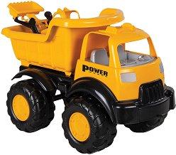 Камион с булдозер - играчка