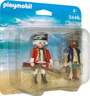 """Пират и войник - Фигури с аксесоари от серията """"Pirates"""" - играчка"""