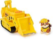 """Ръбъл с трансформиращ се булдозер - Детска играчка от серията """"Пес патрул"""" -"""