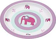 Детска меламинова чиния за хранене - Wildlife Elephant -