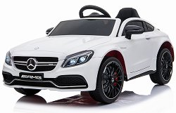 Детска акумулаторна кола - Mercedes C63s - Комплект с дистанционно управление -