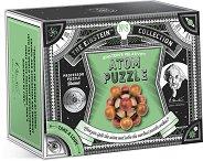 """Atom Puzzle - 3D дървен пъзел от серията """"The Einstein Collection"""" -"""