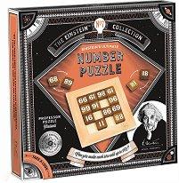 """Number Puzzle - 3D дървен пъзел от серията """"The Einstein Collection"""" -"""
