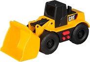 """Колесен товарач - Детска играчка със звукови и светлинни ефекти от серията """"CAT"""" -"""