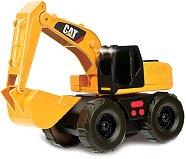 """Багер с обратна лопата - Детска играчка със звукови и светлинни ефекти от серията """"CAT"""" -"""