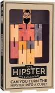The Hipster - 3D дървен пъзел -