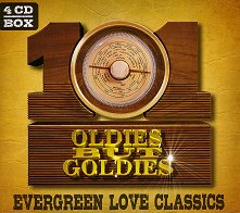 Evergreen Love Classics - 101 Oldies, but Goldies - 4 CD - компилация