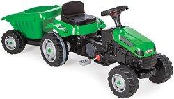 Детски трактор с педали и ремарке - Active -