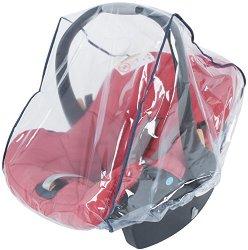 Универсален дъждобран - Аксесоар за бебешко кошче за кола -