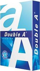 Бяла копирна хартия - Double A Premium - 500 листа A3 с плътност 80 g/m : 2 :  и белота 152