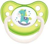 Анатомична залъгалка от латекс (естествен каучук) - За бебета от 0 до 6 месеца от серията  Toys - залъгалка