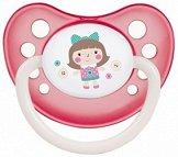 Анатомична залъгалка от латекс (естествен каучук) - За бебета от 6 до 18 месеца от серията Toys -