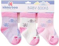 Бебешки памучни чорапи - Travel - Комплект от 3 чифта - продукт