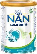 Висококачествено мляко за кърмачета - Nestle NAN Comfortis 1 - Метална кутия от 800 g за бебета от момента на раждането - продукт