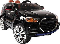 Детска акумулаторна кола - Forte металик - Комплект с дистанционно управление -