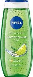 Nivea Lemongrass & Oil Shower Gel - Душ гел със свеж аромат на лимонена трева -