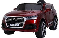Детска акумулаторна кола - Audi Q7 SUV металик - Комплект с дистанционно управление -