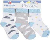 Бебешки памучни чорапи - Комплект от 3 чифта - аксесоар