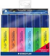 Текст маркери - Textsurfer Classic 364 - Комплект от 6 цвята и химикалка