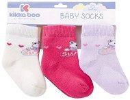 Бебешки термо чорапи - Frogs - Комплект от 3 чифта -