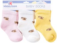 Бебешки термо чорапи - Squirrel - Комплект от 3 чифта -