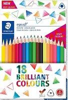 Цветни моливи - Ergosoft Brilliant - Комплект от 18 броя