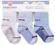 Бебешки термо чорапи - First - Комплект от 3 чифта -