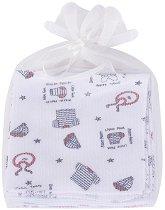 Памучни кърпи - Комплект от 3 броя - продукт