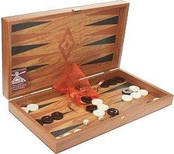 Шах и табла - Дървена настолна игра -