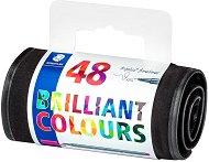 Тънкописци - Triplus 334 - Комплект от 48 цвята в несесер
