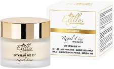"""Exillys Royal Line Anti-Aging Day Cream Age 35+ - SPF 20 - Дневен антиейдж крем за лице за всеки тип кожа от серията """"Royal Line 35+"""" - спирала"""