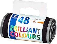 Флумастери - Brilliant Colours 323 - Комплект от 48 цвята в несесер