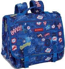 Ученическа чанта за гръб - Gabol: Bang - детска бутилка