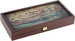 Табла - Пристанище - Класическа настолна игра -