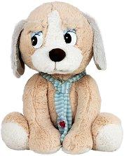 Кученце с шал -