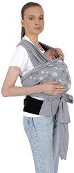 Слинг с поддържащ колан - Аксесоар за носене на бебе -