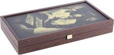 Табла - Приятели - Дървена настолна игра -