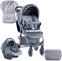 Бебешка количка 2 в 1 - Daisy Set 2019 - С 4 колела -