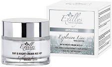 """Exillys Explosion Line Anti-Aging Day & Night Cream 45+ - Дневен и нощен крем с хиалуронова киселина и хайвер от серията """"Explosion Line 45+"""" -"""