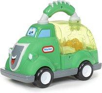 Камион за отпадъци - Бебешка играчка за бутане - играчка