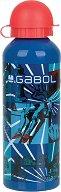Детска алуминиева бутилка - Gabol: Flip 500 ml -