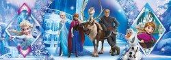 """Замръзналото кралство - панорама - Пъзел от серията """"Замръзналото кралство"""" - пъзел"""