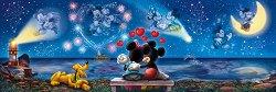 """Мики и Мини - панорама - Пъзел от серията """"Мики Маус"""" -"""