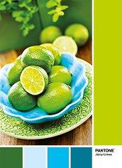 """Зелени лимони - Пъзел от колекцията """"Pantone"""" - пъзел"""