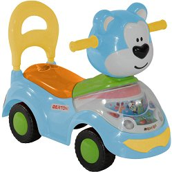 Детска кола за бутане - Мече -