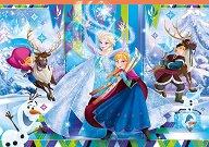 """Замръзналото кралство - Пъзел от серията """"Замръзналото кралство"""" - пъзел"""