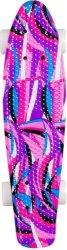Скейтборд  - Colory - С пластмасова дъска с размери 58 х 15 cm - продукт